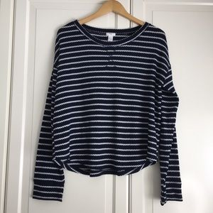🍉2 for $30🍉 Forever 21 Navy Striped Thermal